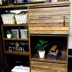 コーヒー大好き/カフェ風/すのこDIY/カラーボックス/DIY/雑貨/... ダイソーのすのこを使ってカラーボックスに…