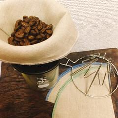 IFNi/ドリッパー/コーヒーペーパー/カフェ雑貨/コーヒー大好き/雑貨/... 新しいドリッパーと、リネンフィルターをゲ…