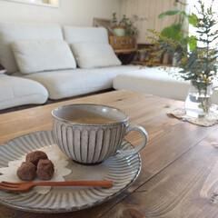 ニトリ/スープカップ/手づくりスイーツ ニトリのスープカップとお皿でカフェ気分(…