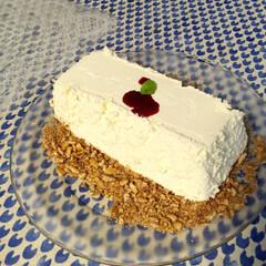 フード レアチーズケーキ