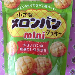 ユイちゃん これだよね〜〜/メロンパン/クッキー ちーちゃい メロンパンの形して かわいい…