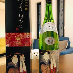 お客様/お歳暮/夕焼け/GODIVAアウトレット/静岡イチゴ/日本酒/... 今日は 素敵なお客様❣️ 地元の お酒で…