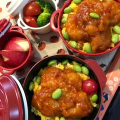 ボヌール/セブンイレブン/お土産/お弁当 今日のお弁当🍱 Kazugaさんの真似っ…