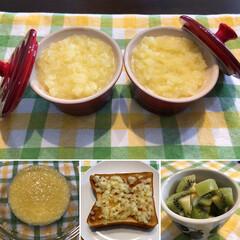 りんごバター/わたしのごはん ウララちゃんのレシピで りんごバター🍎作…
