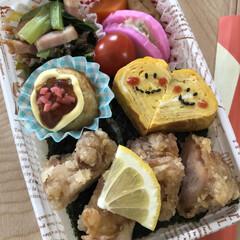 治一郎バームクーヘン/カフェオレ好き/今日のお弁当 5月27日水曜日☀️ 今日のお弁当🍱 蒲…