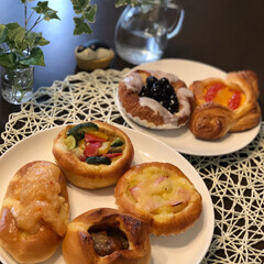 秋の味覚/食欲の秋/食べすぎ注意/スターバックス/イチジク/栗🌰/... お気に入りの パン屋さん 美味しそうな …