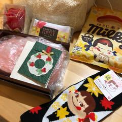 りみ友ちゃんからのプレゼント/リミ友ちゃんに感謝 おはようございます☔️ 今日は冷たい雨で…