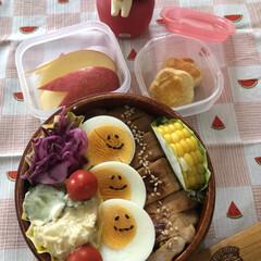 朝ごはん/お弁当 6月15日月曜日☀️ 今日のお弁当 昨日…