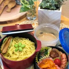 お弁当/LIMIAごはんクラブ/LIMIAな暮らし 今日のお弁当🍱 satoさんの麺弁当🍱を…