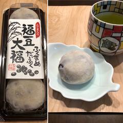 豆大福/あんこ好き/和菓子/おうちカフェ 4月13日月曜日☔️ 今日は和菓子❣️ …