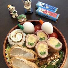 チロルチョコ/今日のお弁当 4月17日金曜日☀️ 今日のお弁当 お花…