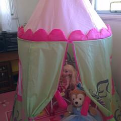 子供部屋/テント 子供部屋にテントを入れて、ごっこ遊びをし…