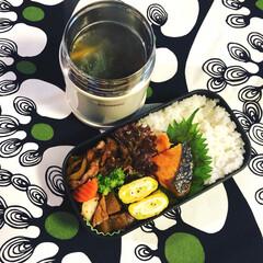 焼売中華スープ/大根の味噌煮/鮭の塩焼き/生姜焼き/がっつり/男子弁当/... 新しいスープジャーが登場‼️今までのは保…