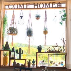 好きな眺め/デコ窓/ラブリコDIY/令和元年フォト投稿キャンペーン/DIY/100均/... おはようございます(:D)┓☀️.°  …