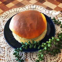ふわふわ/ヨーグルトスフレケーキ/まったり休日/ケーキ作り/キッチン/わたしのGW ヨーグルトスフレケーキ作ってみました💕 …(1枚目)