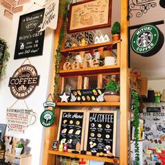 Cafe風に憧れて/お気に入りコーナー/雑貨/DIY/100均/ダイソー/... 素敵便で頂いたブルスケッタのボードをココ…(1枚目)