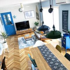 ソファ/テレビボード/unico/キャビネット/IKEA/ユッカ/... リビングの壁インテリアを秋っぽくするため…