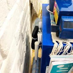 マガジンラック/ブリックタイル/IKEA/ヘリンボーン/ダルトン/観葉植物/... 我が家のマグネット収納。 IKEAで買っ…(4枚目)