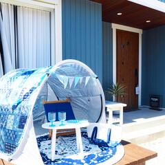 テント/ウッドデッキ/玄関ドア/玄関/リクシル/アウトドア/... ニトリのモニター企画で夏を楽しむおすすめ…