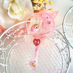 ゆめかわいい/アクセサリー/ネックレス/魔法少女/魔法アイテム/兎 うさぎ/... magical moon rabbit …