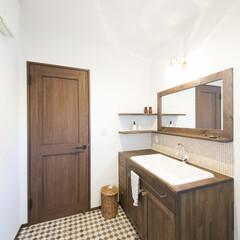 洗面化粧台/オリジナル洗面台 オリジナル洗面化粧台。
