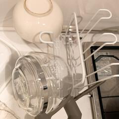 新生活/セリア/100均/キッチン収納/キッチン雑貨/収納/... [セリア]グラススタンド もはやなんでも…(2枚目)