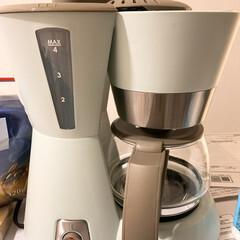 ブルーノ My Littleシリーズ 4-CUP コーヒーメーカー BRUNO ドリップコーヒー コーヒーマシン 保温機能 | BRUNO(コーヒーメーカー)を使ったクチコミ「[Bruno]コーヒーメーカー来ました👏…」