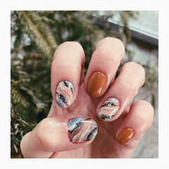 nail/gelnail/nails/ネイル/ジェルネイル/ネイルデザイン/... nuance / stoneart ・個…