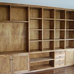 「新築に合わせて、書棚のご注文を頂きました…」(1枚目)