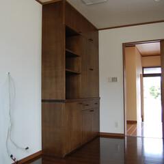 「新築に合わせてキッチン収納棚のご注文を頂…」(1枚目)