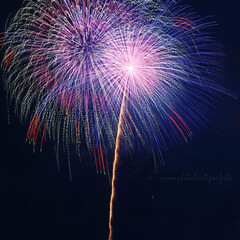 花火/夏の風物詩/花火大会/フォロー大歓迎/LIMIAファンクラブ/至福のひととき/... 花火大会𓂃𓂂𓋪𓐍𓈒 行ってきました。:+…