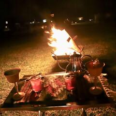 camp/キャンプ/フォロー大歓迎/LIMIAファンクラブ/至福のひととき/おやつタイム/... Camp Pic𓌅  キャンプの夜🌙*.…