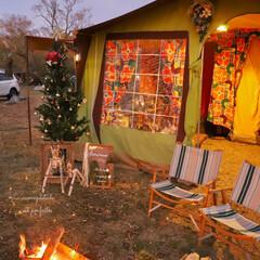 camp/キャンプ/クリスマス2019/リミアの冬暮らし/おでかけ/暮らし/... :*・゚Ⅹ'masキャンプ.。.:*・…