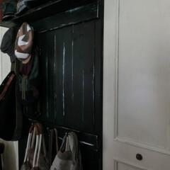 ⅮIY/扉ペイント/家具ペイント クローゼット扉とⅮIYの壁掛けフック付き…
