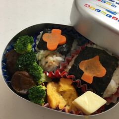 デコらない/ご飯大好き/シンプル/プレ幼稚園/お弁当 週一プレ幼稚園に通う息子のお弁当🍙 お米…