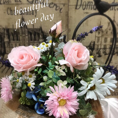 インテリア雑貨/お花を飾る/趣味の時間/自分の楽しみ/ハンドメイド/インテリア/... おはようございます♪ 今日も曇り空 少し…