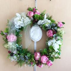 香りを楽しむ/お花を楽しむ/エッセンシャルアロマオイル/アロマストーン/お花のある暮らし/リース/... おはようございます♪ 梅雨入りが近いせい…
