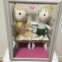 ハンドメイド人形 久しぶりにケース付きの人形を作ったので投…