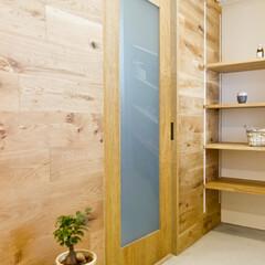 Standard/リノベーション/ナチュラル/建具/造作/無垢材/... 兵庫県神戸市の中古分譲マンションをリノベ…