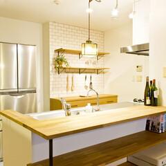 Standard/リノベーション/キッチン/kitchen/無垢材/造作/... 京都府京都市の築12年の中古マンションを…