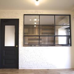 Standard/リノベーション/アイアン/室内窓/建具/タイル/... 大阪府豊中市、築21年の中古マンションを…