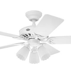 シーリングファン/シーリングファンライト/照明/インテリア/空調/空気/... モーター色:ホワイト 羽根色:メープル/…(1枚目)