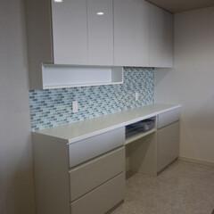 キッチン/食器棚/システム家具/セパレート食器棚/キッチン収納/オーダー食器棚/... システム家具の食器棚(AMAT) オーダ…