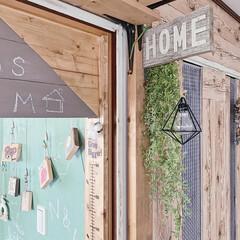 DIYのある暮らし/簡単リメイク/ミルクペイント/子供部屋入り口/暮らしを楽しむ工夫/暮らしのアイディア/... 春らしくイメチェンしました♡  pic2…(2枚目)