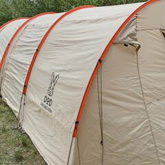 キャンプ/暮らしを楽しむ/LIMIAおでかけ部/おでかけ/風景/暮らし/... お友達家族のキャンプ⛺に、 BBQだけし…