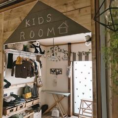 DIY/収納/住まい/暮らし/子供部屋/子供部屋インテリア/... 子供部屋𖠋 𖠋 ⡱  リビングからの眺め…
