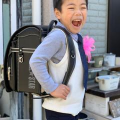 ランドセル/入学式/暮らしを楽しむ/平成最後の一枚/春のフォト投稿キャンペーン/わたしのお気に入り 昨日は小学校の入学式でした💓  ランドセ…