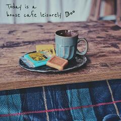 おやつ/こたつ/カフェタイム/おうちカフェ/キッチン雑貨/雑貨/... おうちで、のんびりまったりcafe ti…