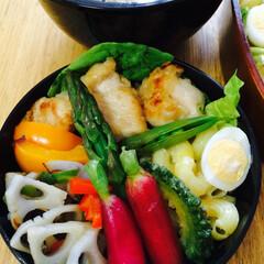 おべんとう 野菜丼風のお弁当  ご飯炊き上がり含め …