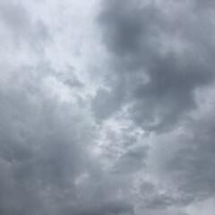 梅雨 何かに見えると思うんです 地震の翌日です